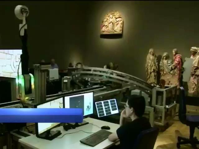 У Франкфуртському музеi експонати оцифровують за допомогою 3D сканера (вiдео) (видео)