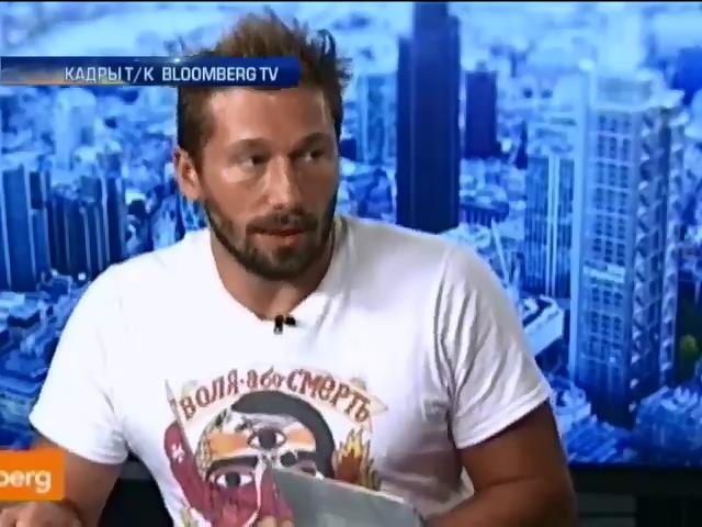 За поддержку Украины российского бизнесмена назвали гнидой (видео)