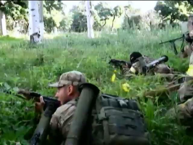 На Донбасi партизани знищили близько 30 терористiв (видео)