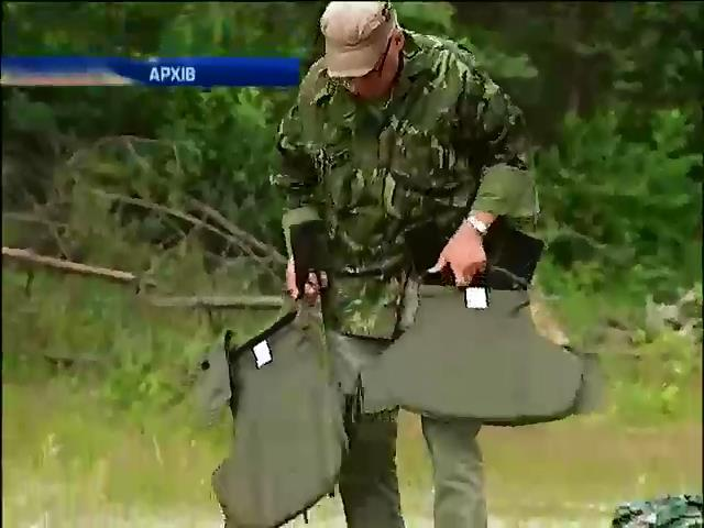 Литва передасть Украiнi каски та бронежилети (видео)