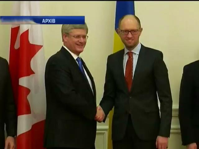 Канада вiдправила в Украiну вiйськове обладнання для збройних сил (видео)