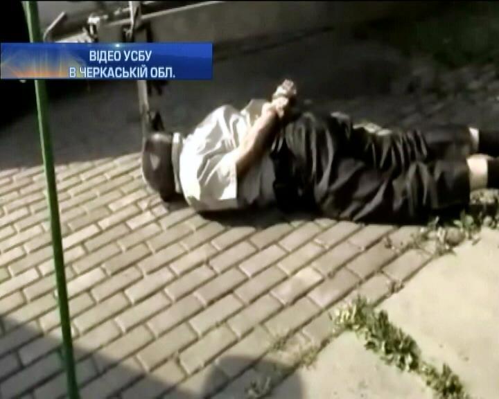 На Черкащинi СБУ затримала посiбника терориста Безлера (вiдео) (видео)