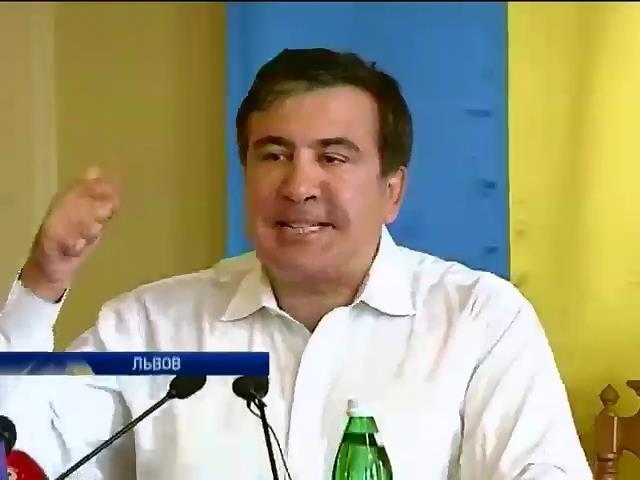 Саакашвили рассказал Львову, как обустроить Украину (видео) (видео)