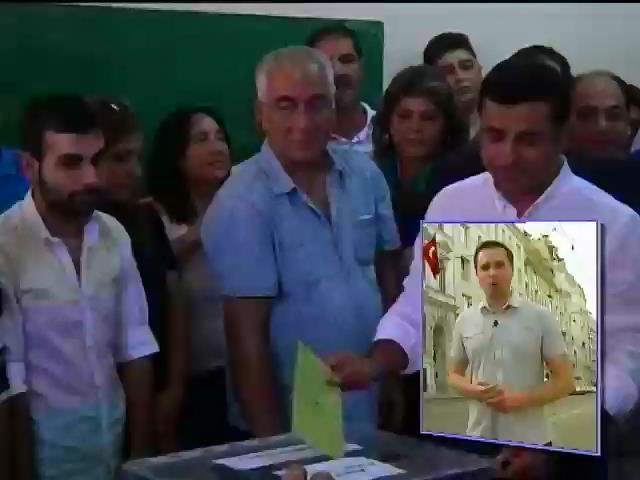 В Турции впервые выбирали президента народным голосованием (видео) (видео)