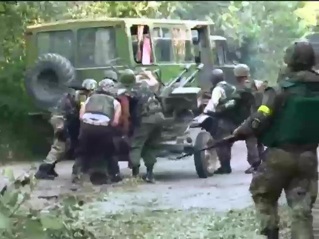 Украiнська армiя взяла Донецьк у щiльне кiльце (вiдео) (видео)