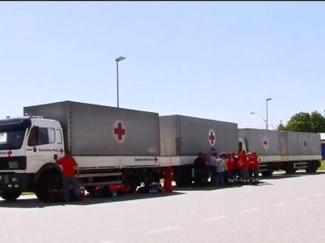 За гуманiтарний вантаж iз Росii вiдповiдатиме Червоний Хрест - Чалий (видео)