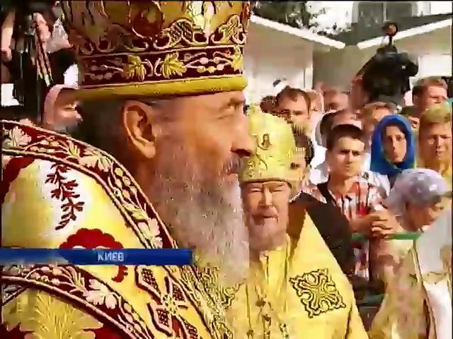 В Киево-Печерской Лавре интронизировали митрополита Онуфрия (видео)