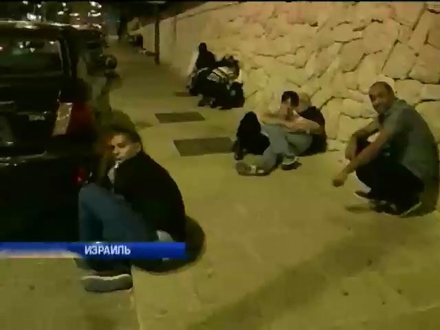 ХАМАС возобновил обстрел Израиля (видео) (видео)
