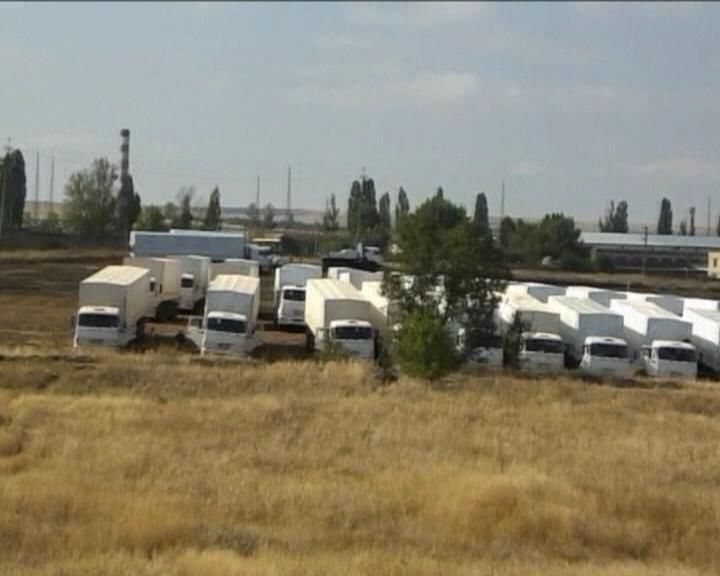 Украiнськi митнкии незабаром розпочнуть оформляти гуманiтарний вантаж iз Росii (видео)