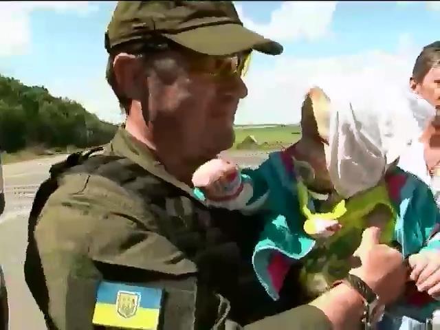 З Донбасу евакуювали понад пiвтисячi дiтей-сирiт (видео)