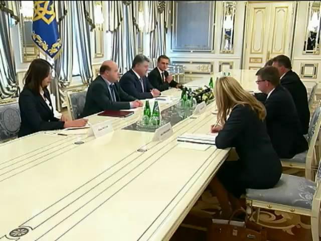 Порошенко закликав Москву повернутися у рамки мiжнародного права (видео)