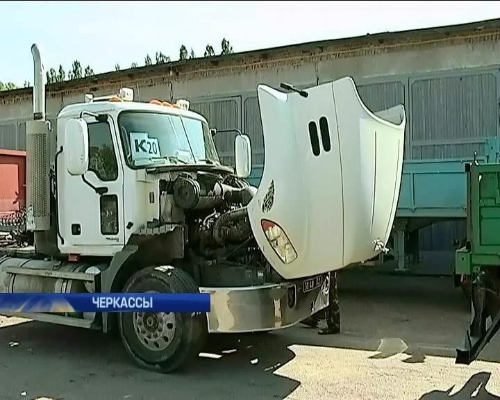 В Черкассах бойцы автобатальона готовятся к отправке на восток (видео) (видео)
