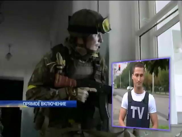 """Батальон """"Донбасс"""" пытается прорвать окружение под Иловайском (видео) (видео)"""