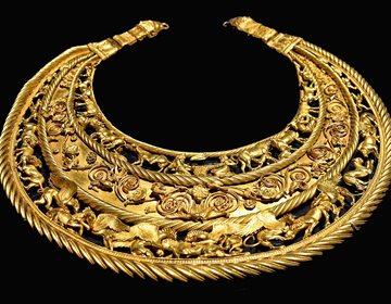 Скифское золото, которое было в Крыму, -теперь в киевском музее