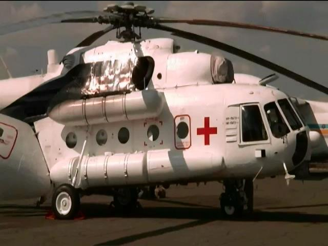 Модернізований гелікоптер МІ-8 рятуватиме життя солдат (відео)