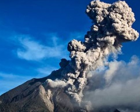 Виверження вулкана Бардарбунга в Ісландії загрожує літакам (відео)