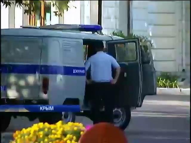 Водителей в Крыму будут штрафовать за украинские номера (видео)