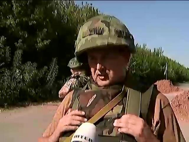 "У Горлiвцi дислокуються 12 танкiв та 4 ""Гради"" терористiв (вiдео) (видео)"