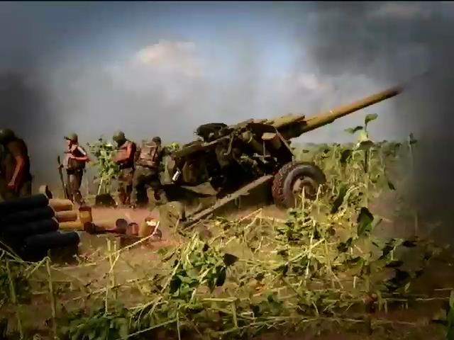 """Террористы """"Ураганами"""" стреляют куда попало, убивая детей (видео) (видео)"""