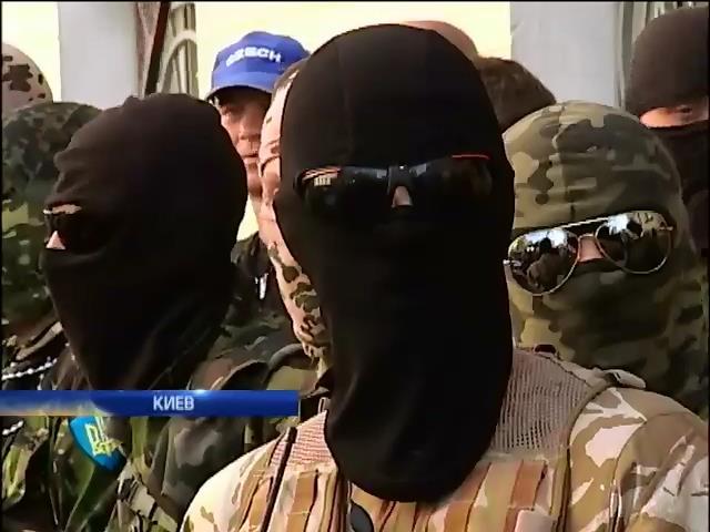 """Батальоны """"Айдар"""" и """"Днепр"""" требуют оружие и военную технику (видео) (видео)"""