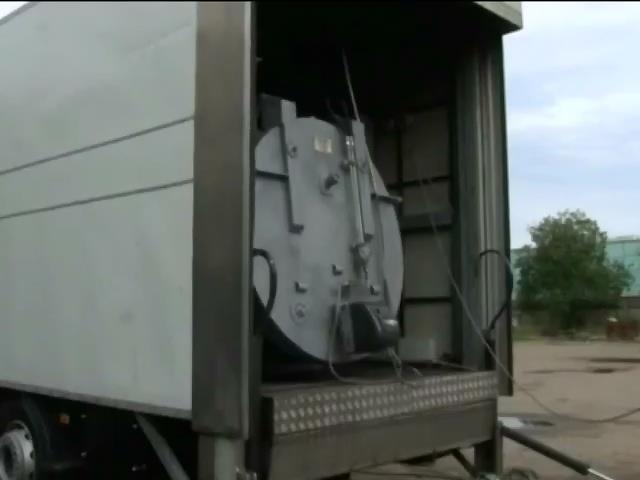 Медведeв передав армii Росii мобiльнi крематорii (видео)
