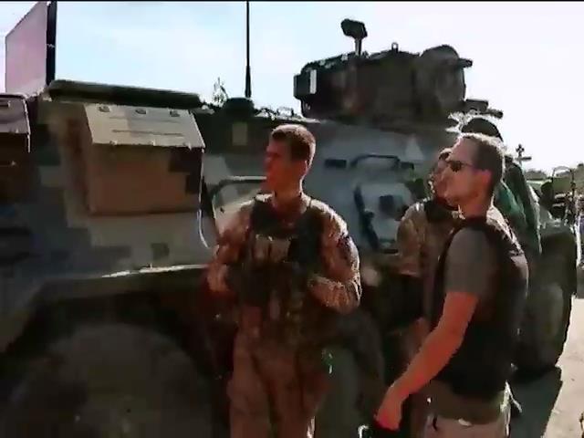 Артилерiстськi боi тривають в декiлькох кiлометрах вiд Марiуполя (вiдео) (видео)