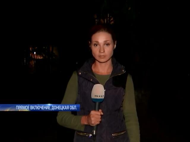 """После перемирия украинскую армию под Донецком атаковали из """"Градов"""" (видео)"""