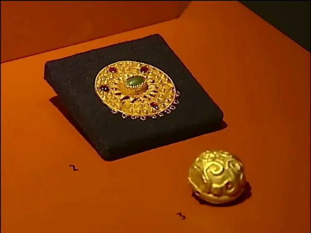 Киеву вернули скифское золото из Амсердама (видео) (видео)