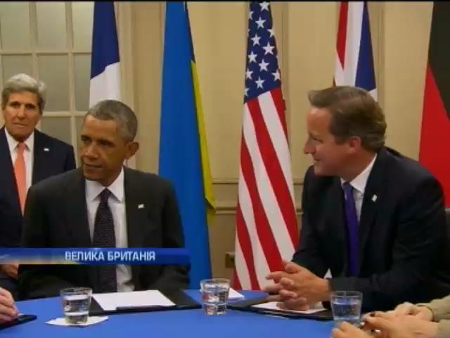 """На самiтi НАТО у Ньюпортi розкритикували """"мирний план"""" Путiна (вiдео) (видео)"""