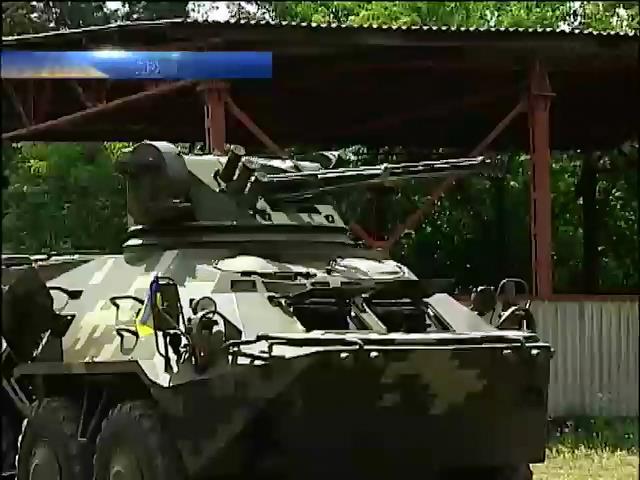 У Нацгвардii створено новий танковий пiдроздiл (видео)