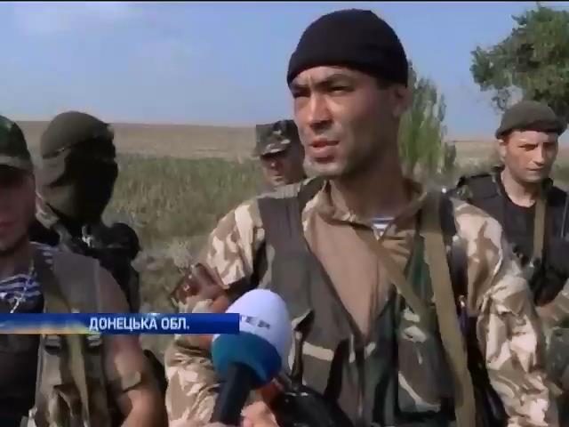 На Донеччинi терористи використовують перемир'я для укрiплення своiх позицiй (видео)