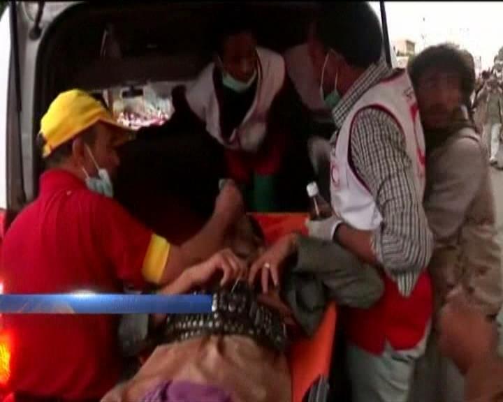 В ґменi пiд час розгону демонстрацii шиiтiв загинули 7 осiб (видео)