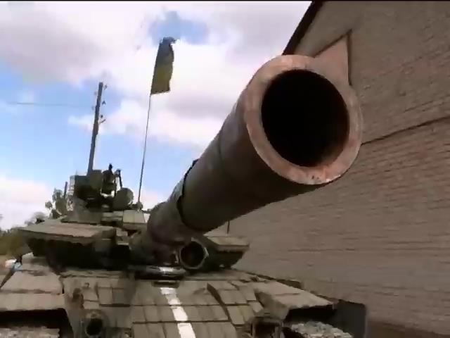 Вiйськовi тримають оборону в аеропорту Донецька (вiдео) (видео)