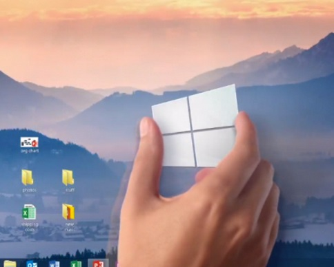 Мир увидел новые возможности Windows 9 (видео)