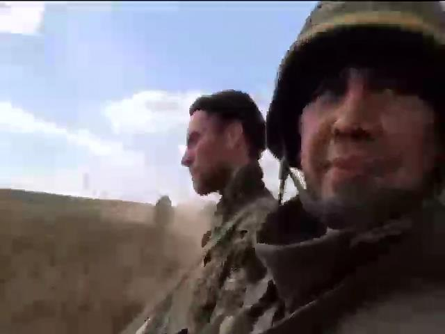 Терористи намагаються вiдтiснити украiнських вiйськових зi своiх позицiй (видео)