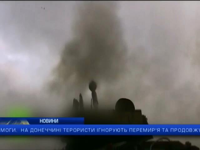 В районi аеропорту в Донецьку точаться запеклi боi: випуск 13:00 (видео)