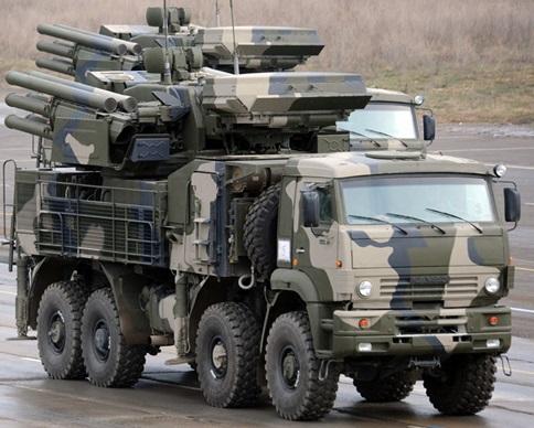 """Россия снабжает террористов ракетными комплексами """"Панцирь"""""""