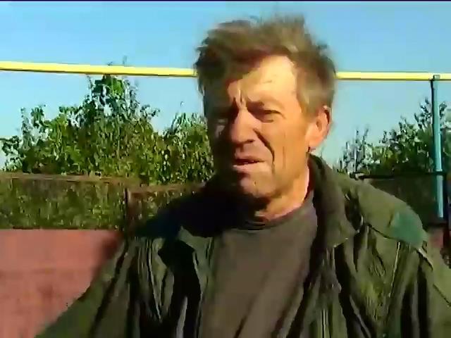 Под Ясиноватой старики не могут покинуть охваченные войной села (видео) (видео)