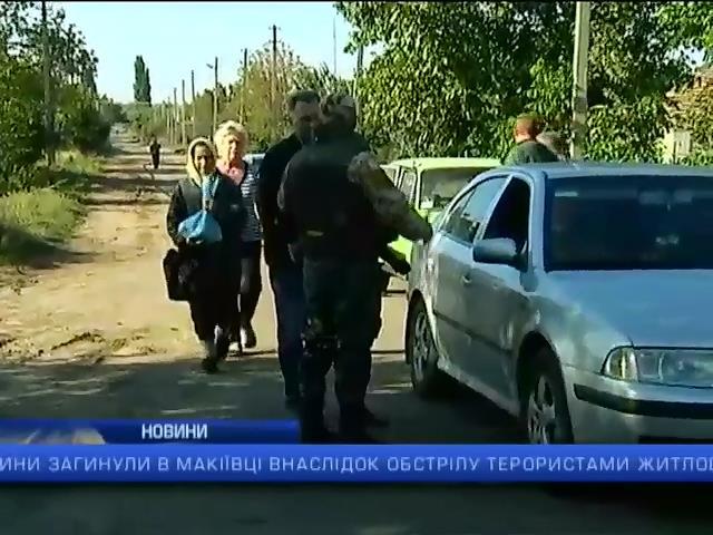 В Макiiвцi внаслiдок обстрiлу терористами загинули двоe мирних мешканцiв: випуск 13:00 (видео)