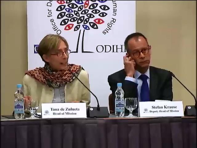 700 спостерiгачiв ОБСґ стежитемуть за парламентськими виборами в Украiнi (видео)