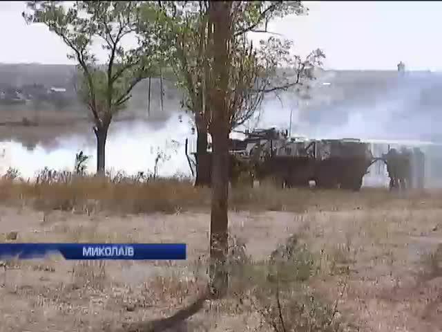 В Миколаeвi пройшли антитерористичнi навчання (видео)