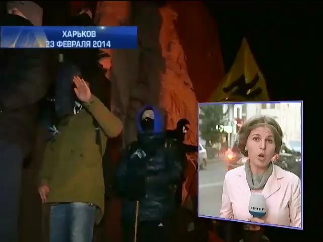 Службу такси в Харькове обвиняют в пособничестве титушкам (видео)