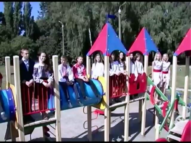 Вiнницькi школярi передали в зону АТО обереги та вiдео-листи (видео)