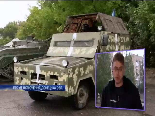 Терористи нарощують сили в районi Дебальцево (видео)