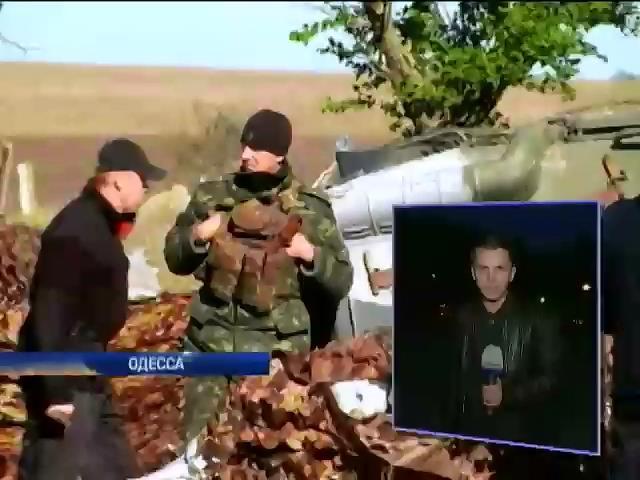 Нападение на блокпост в Одессе могли спровоцировать пьяные милиционеры (видео)