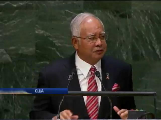 Малайзiя просить ООН направити миротворцiв на мiсце падiння Боiнга (видео)