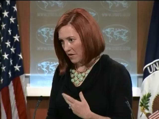 Держдеп США вимагаe вiд Росii негайно вивести вiйська з Донбасу (видео)