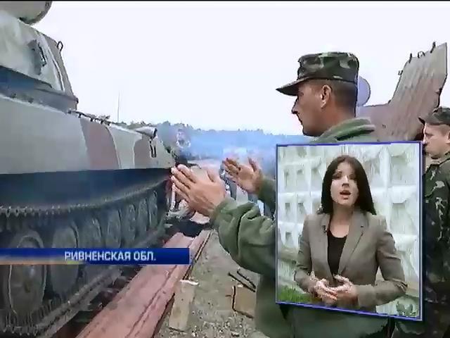 Бизнесменов в Ровно просят ремонтировать артустановки (видео) (видео)