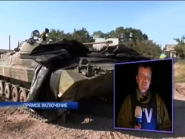 Террористы пытались взять в кольцо аэропорт Донецка (видео)