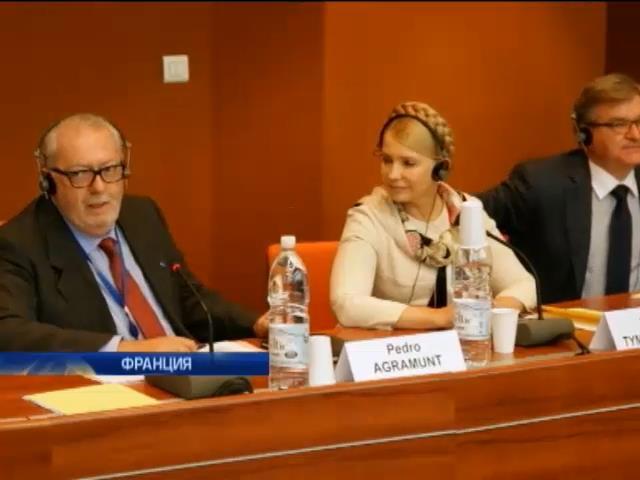 Тимошенко призвала ЕС лишить Россию членства в Совете Европы (видео)